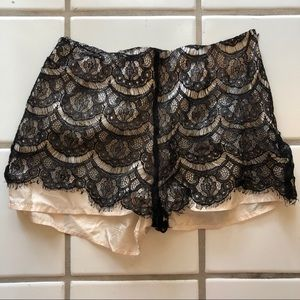 Adorable Lace Shorts